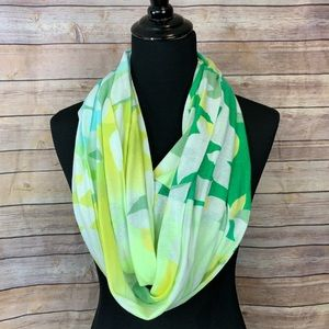 Infinity Scarf Old Navy Blue Yellow Green